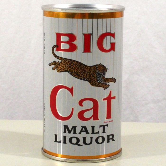 Big Cat Malt Liquor (Peoria Heights) 039-30 Beer