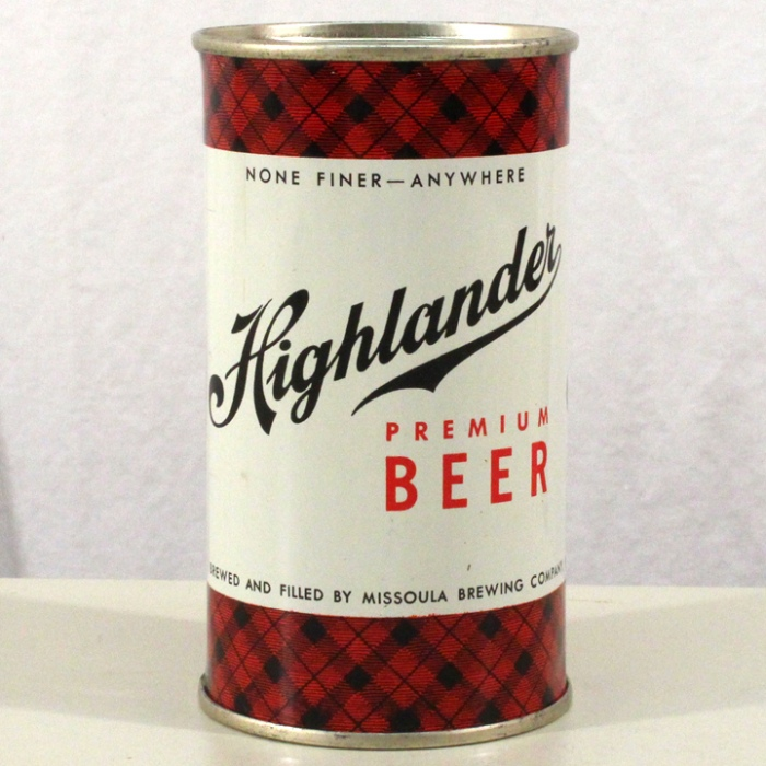 Highlander Premium Beer (Enamel) 082-11 Beer