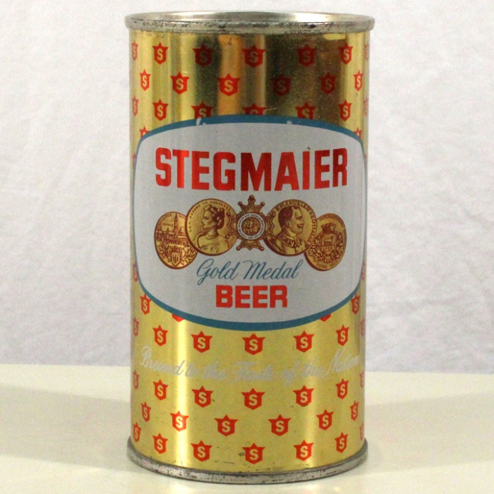 Stegmaier Gold Medal Beer (Blue Oval) 136-04 Beer