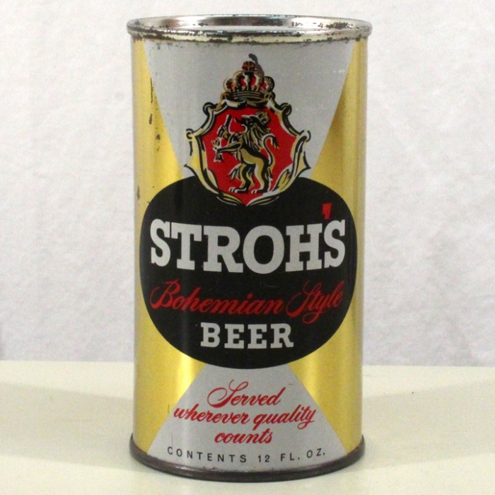 Stroh's Bohemian Style Beer L137-30 Beer