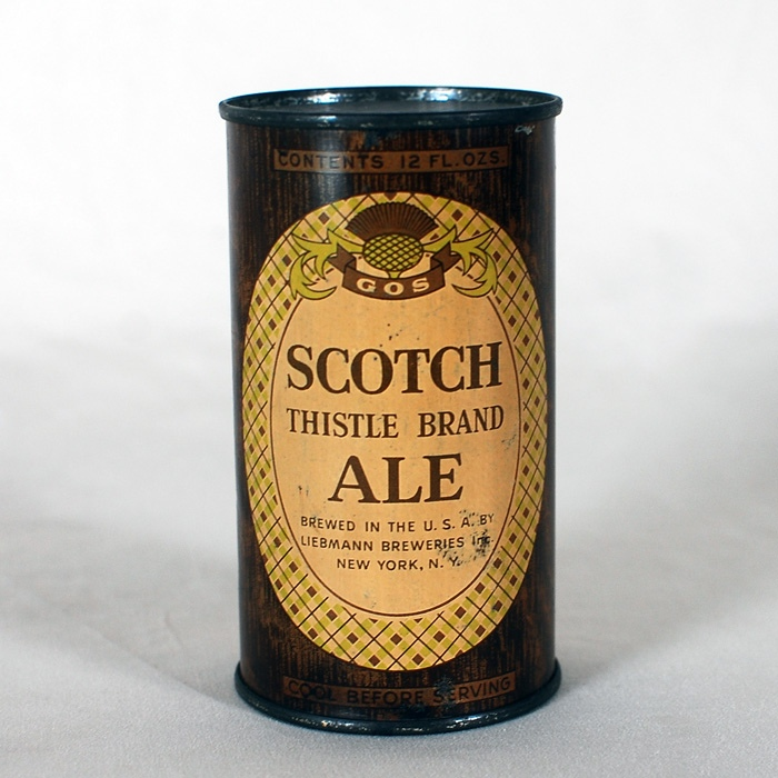 Scotch Thistle Brand Ale 748 Beer
