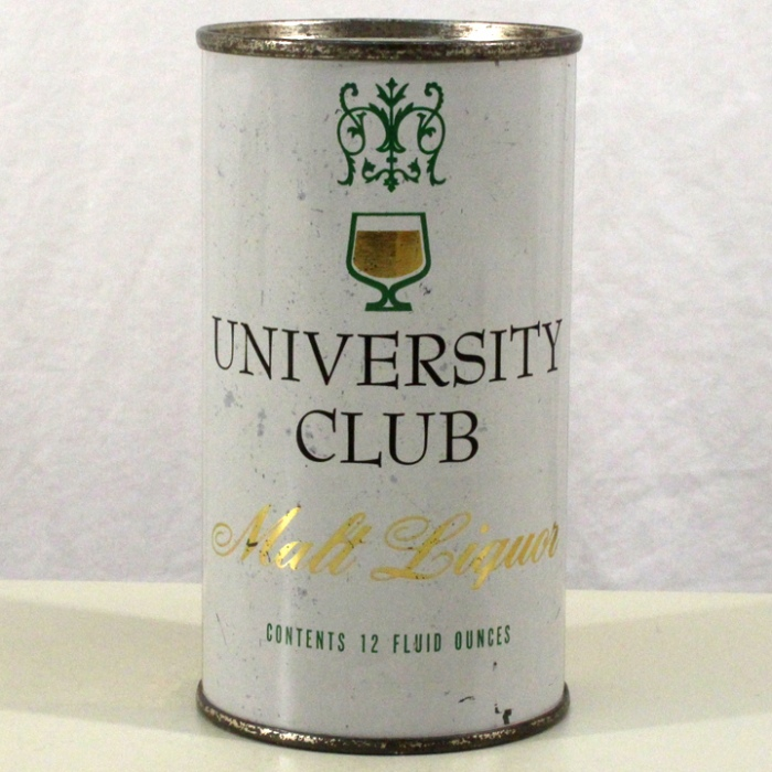 University Club Malt Liquor 142-15 Beer