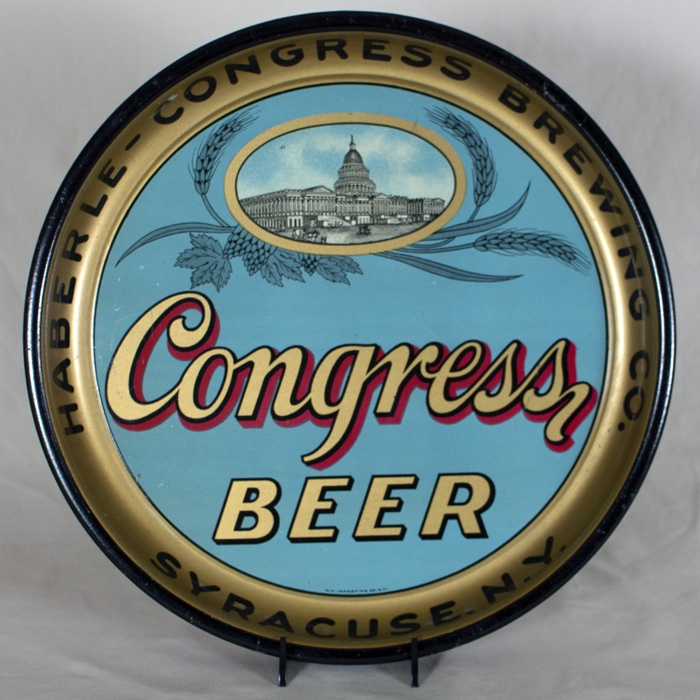 Congress Beer Tray Beer