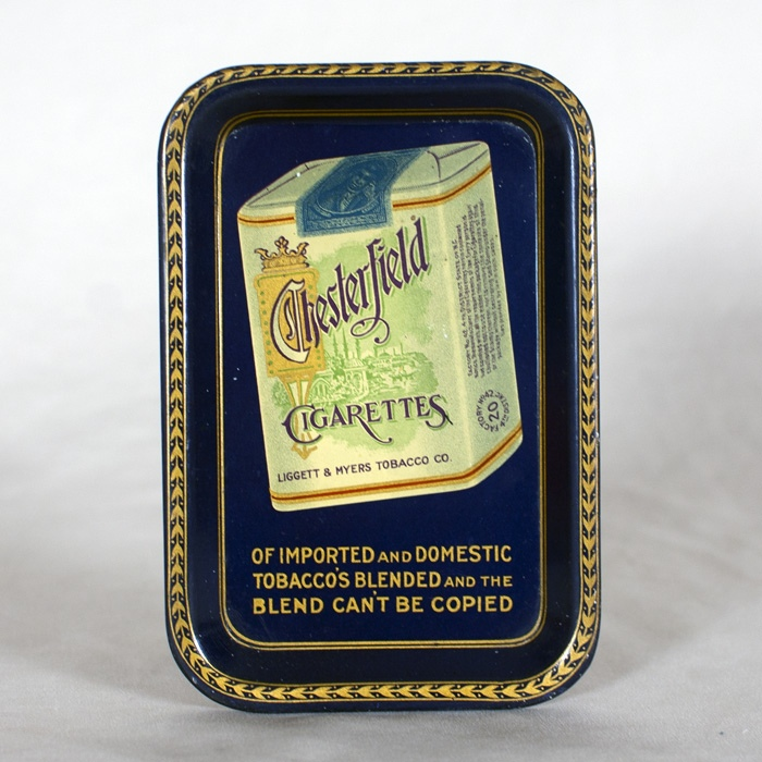 Chesterfield Cigarettes Tip Tray Beer