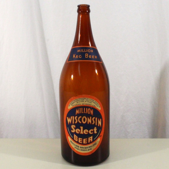Million Wisconsin Select Beer DNCMT 4% Picnic Beer