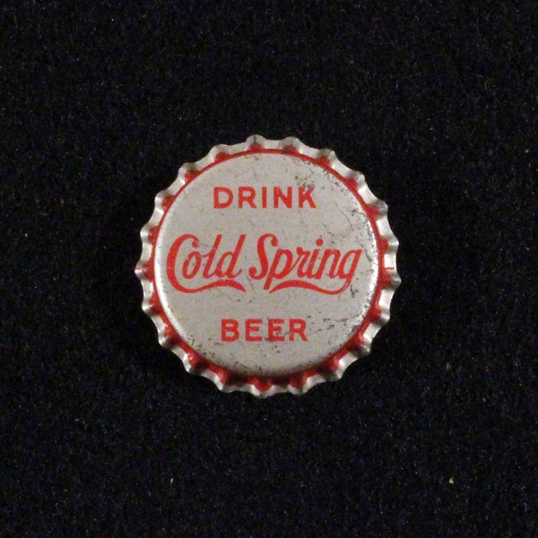 Drink Cold Spring Beer - Red Lettering Beer