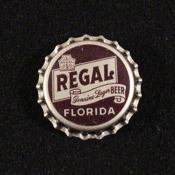 Regal Genuine Lager Beer Florida Tax - Straight Text Beer