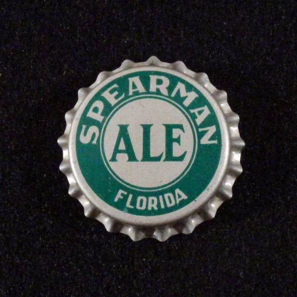 Spearman Ale Bottle Cap Beer