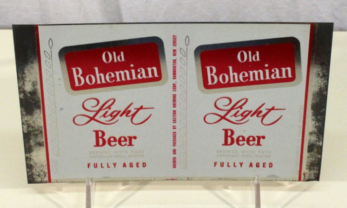 Old Bohemian Light Beer 099-18 (Flat Sheet) Beer