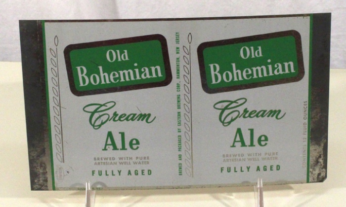 Old Bohemian Cream Ale 099-15 (Flat Sheet) Beer