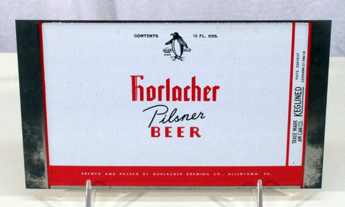Horlacher Pilsner Beer 077-17 (Flat Sheet) Beer