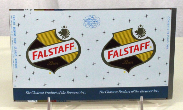Falstaff Beer 063-30 (Flat Sheet) Beer