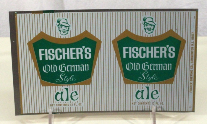 Fischer's Old German Style Ale 064-39 (Flat Sheet) Beer