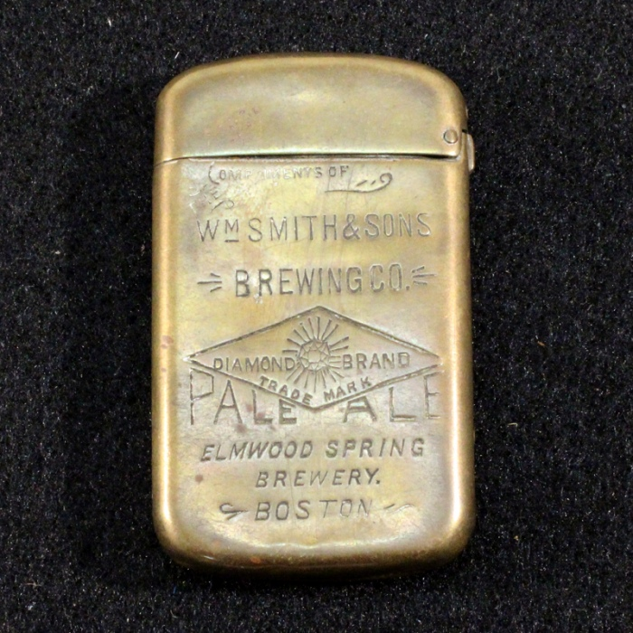 Wm. Smith & Sons Brewing Co. Matchsafe Beer