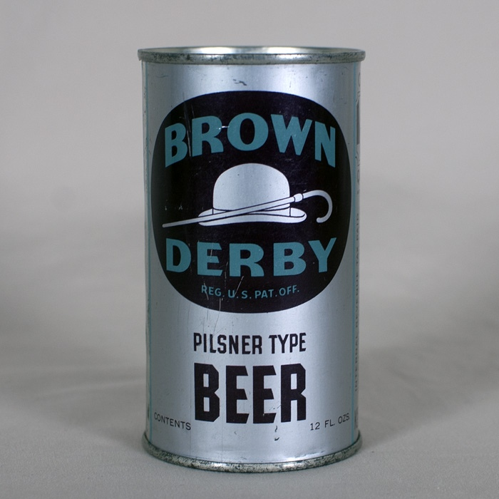 Brown Derby Pilsner Type Beer 124 Beer