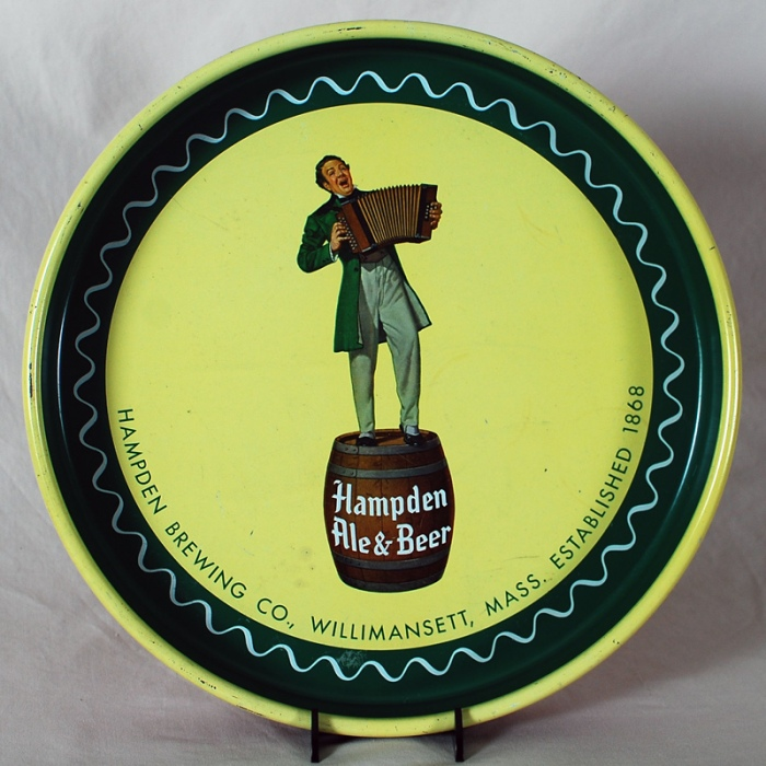 Hampden Johnnie Accordian Player Tray Beer