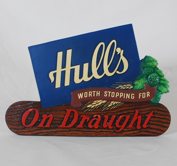 Hull's On Draught Composite Sign Beer