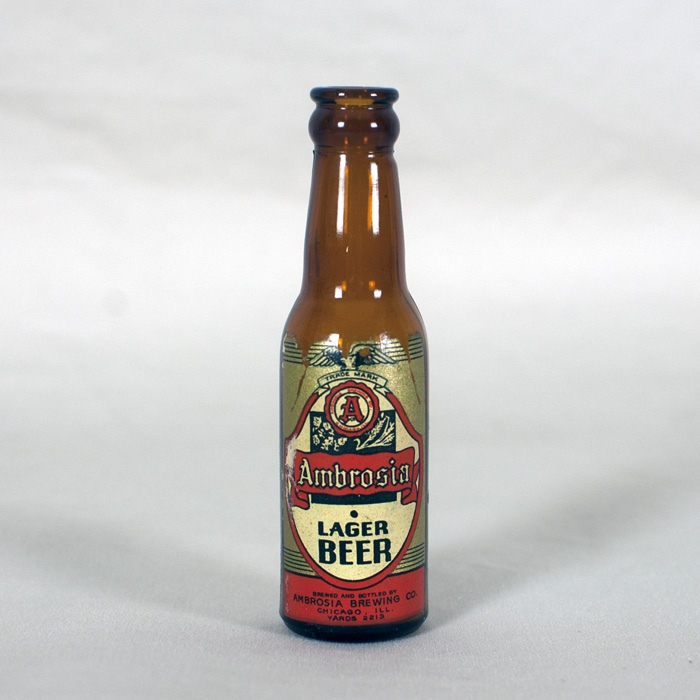 Ambrosia Mini Beer Bottle Beer