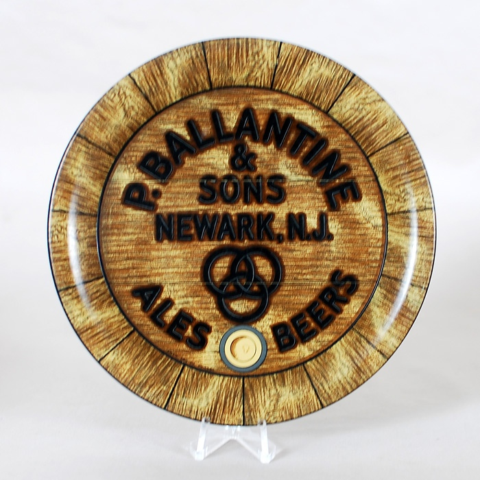Ballantine Tip Tray Beer