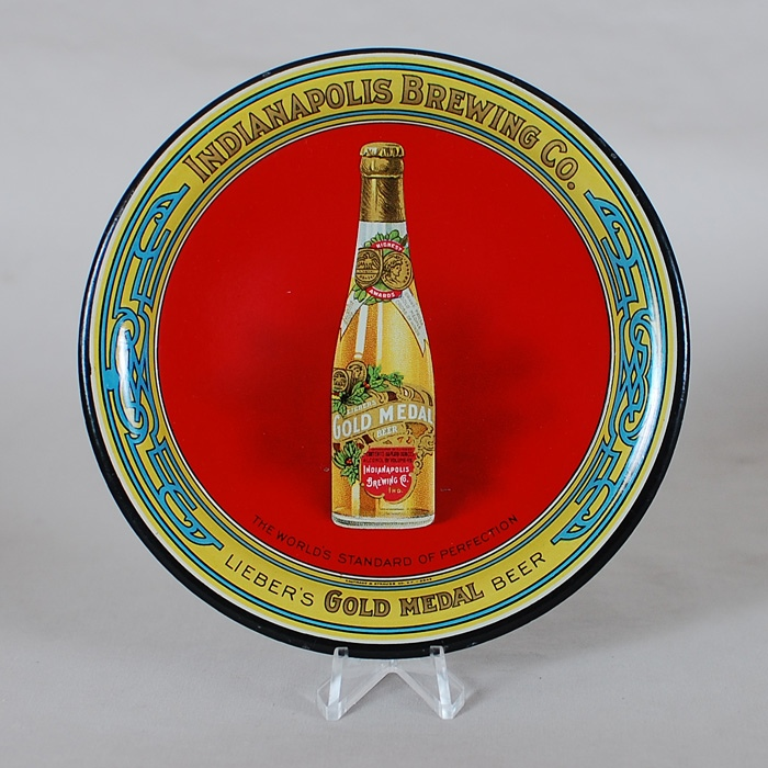 Indianapolis Gold Medal Tip Tray Beer