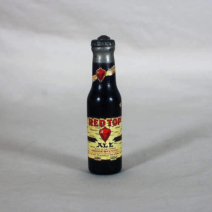 Red Top Ale Figural Wood Bottle Opener Beer