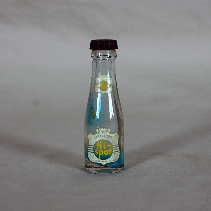 Canada Dry Hi-Spot Mini Soda Bottle Beer
