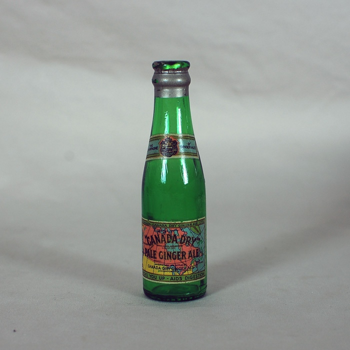 Canada Dry Pale Ginger Ale Mini Bottle Beer