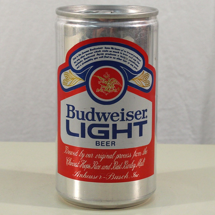 Budweiser Light Beer (Test Can) 228-01 Beer