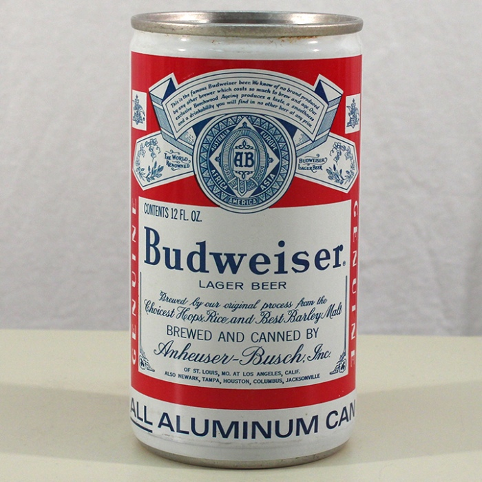 Budweiser Lager Beer (Los Angeles) 048-02 Beer