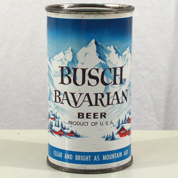 Busch Bavarian Beer (Dark Blue) 047-21 Beer
