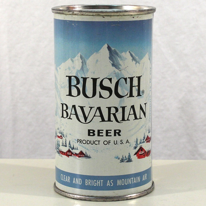Busch Bavarian Beer (Light Blue) 047-20 Beer