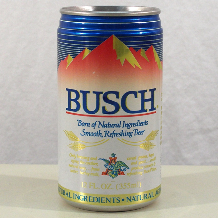Busch Beer (Test Can) 229-21 Beer