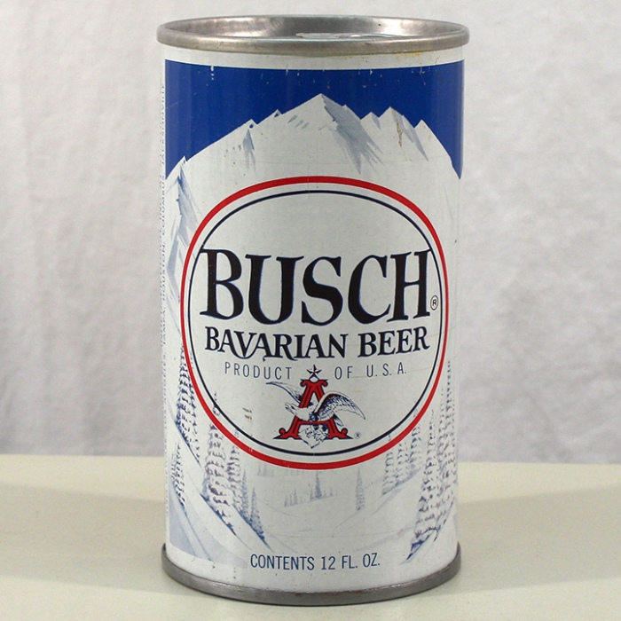 Busch Bavarian Beer Test Can NL Beer