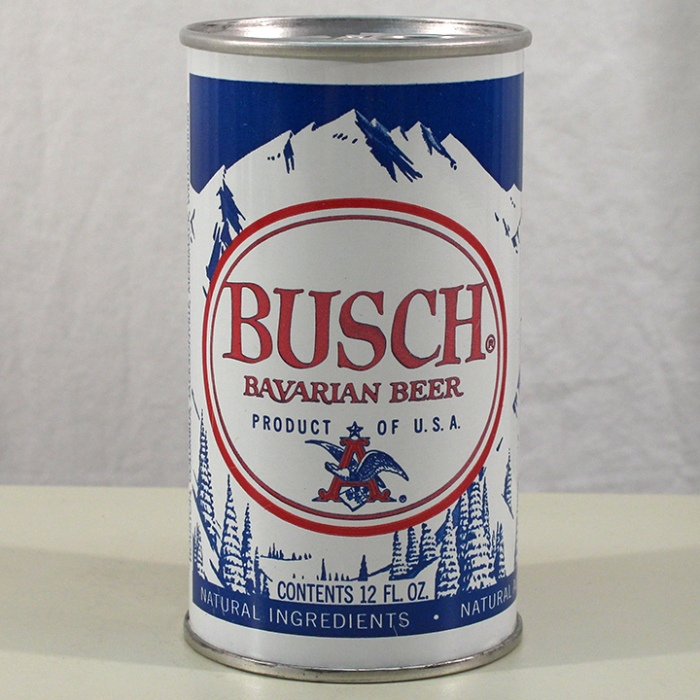 Busch Bavarian Beer Test Can 229-18 Beer