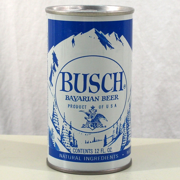 Busch Bavarian Beer Test Can 229-14 Beer