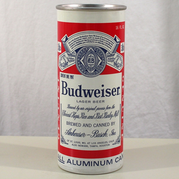 Budweiser Lager Beer (Los Angeles) 142-25 Beer