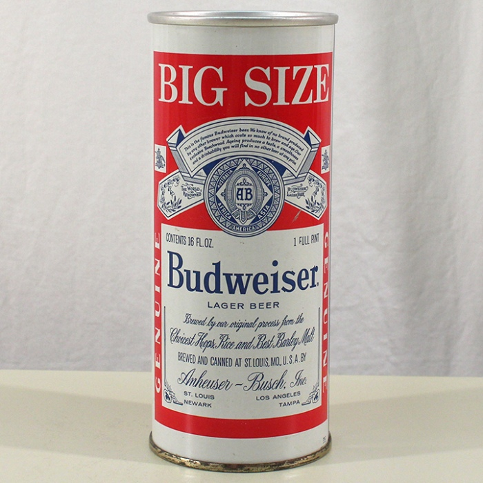 Budweiser Lager Beer (Continental) 143-04 Beer