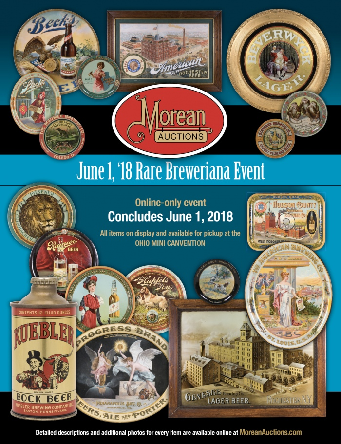 June 1 Rare Can and Breweriana Auction Catalog Beer