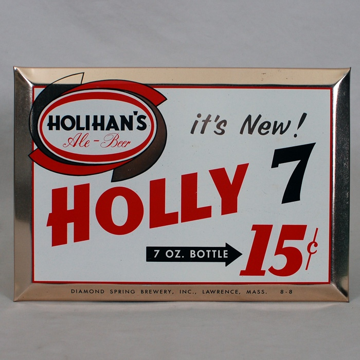 Holihan's Holly 7 TOC Sign Beer