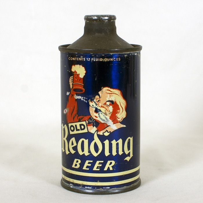 Old Reading Beer J-Spout 176-30 Beer