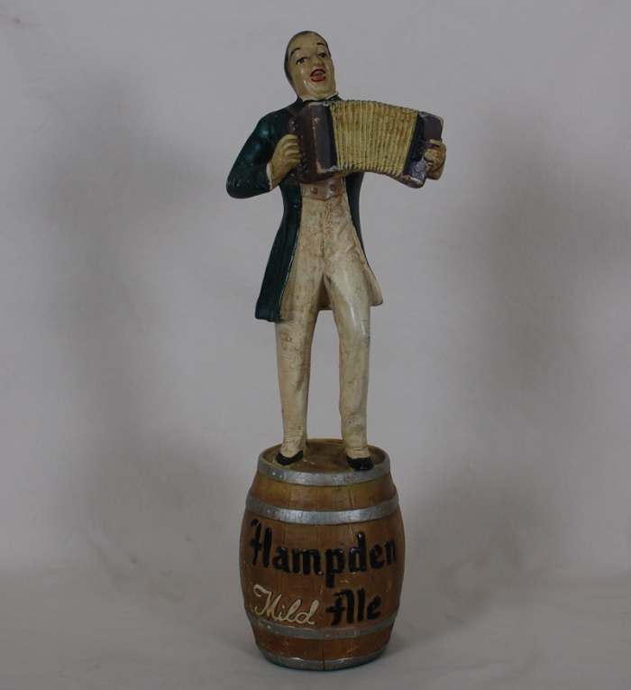 Hampden Johnnie Back Bar Figurine Beer