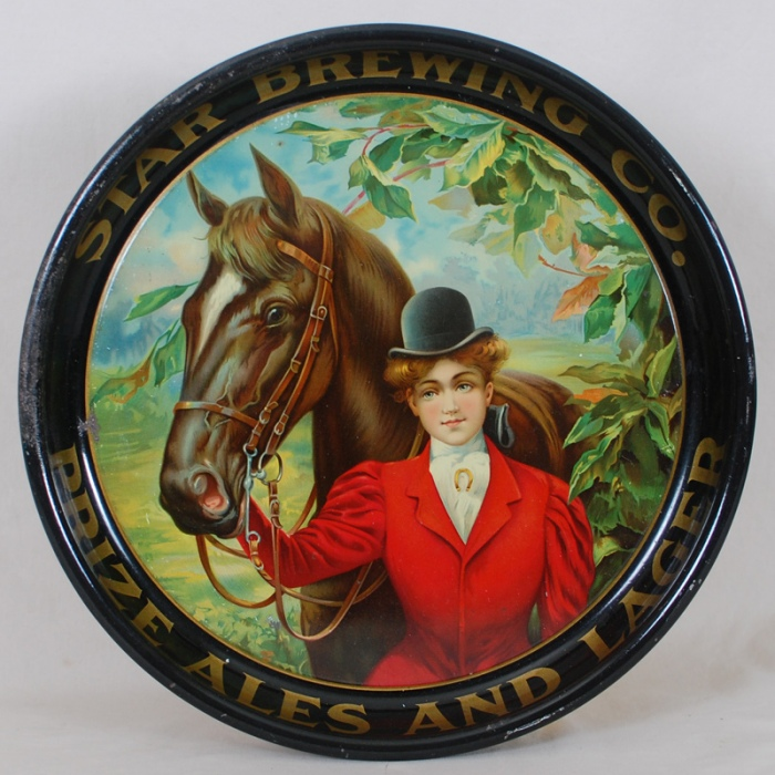 Star Prize Ales Horse Tray Beer