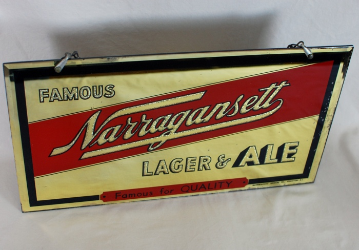 Narragansett RPG Sign Beer