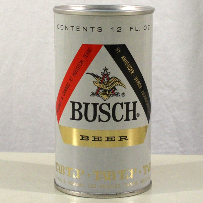 Busch Beer (Test Can) 229-27 Beer
