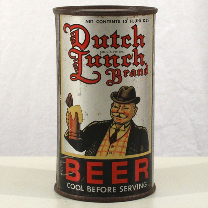 Dutch Lunch Brand Beer 215 Beer