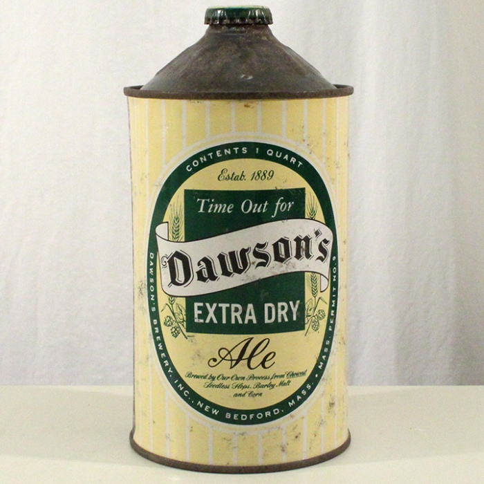 Dawson's Extra Dry Ale 206-16 Beer
