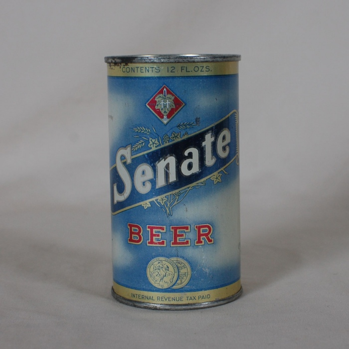 Senate Beer Can 132-14 Beer