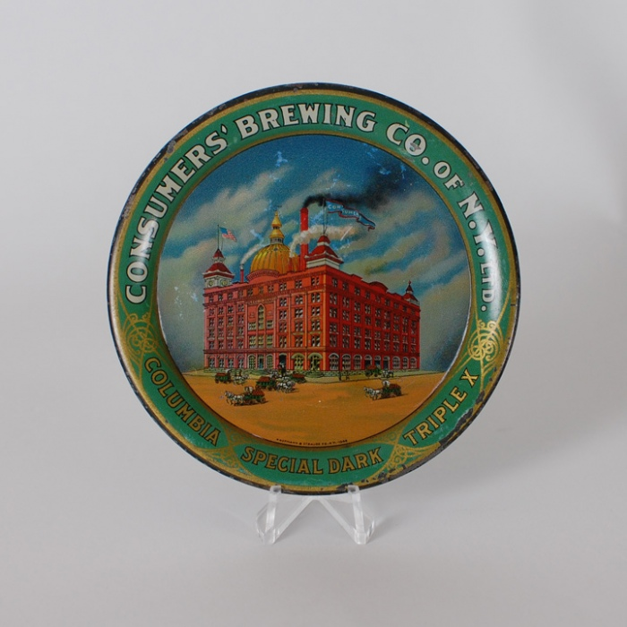 Consumers Brewing Factory Tip Tray Beer