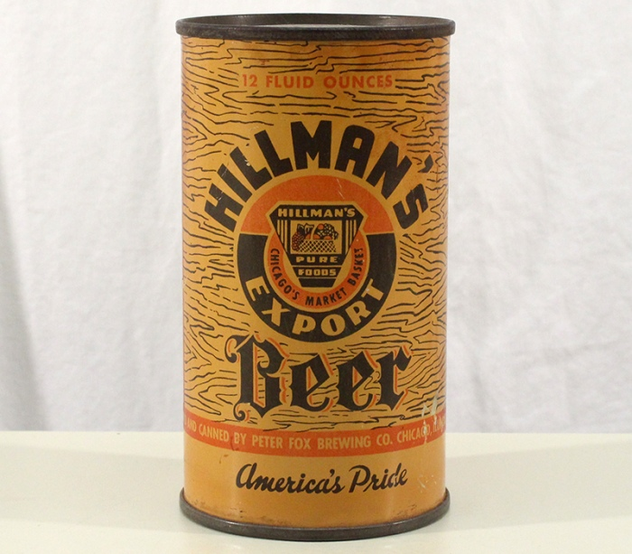 Hillman's Export Beer (Peter Fox) 394 Beer