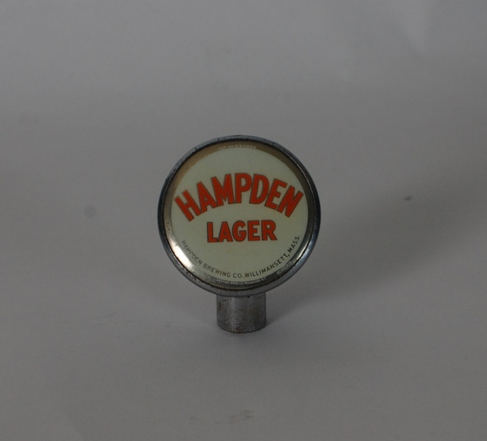 Hampden Lager Tin Can Knob Beer